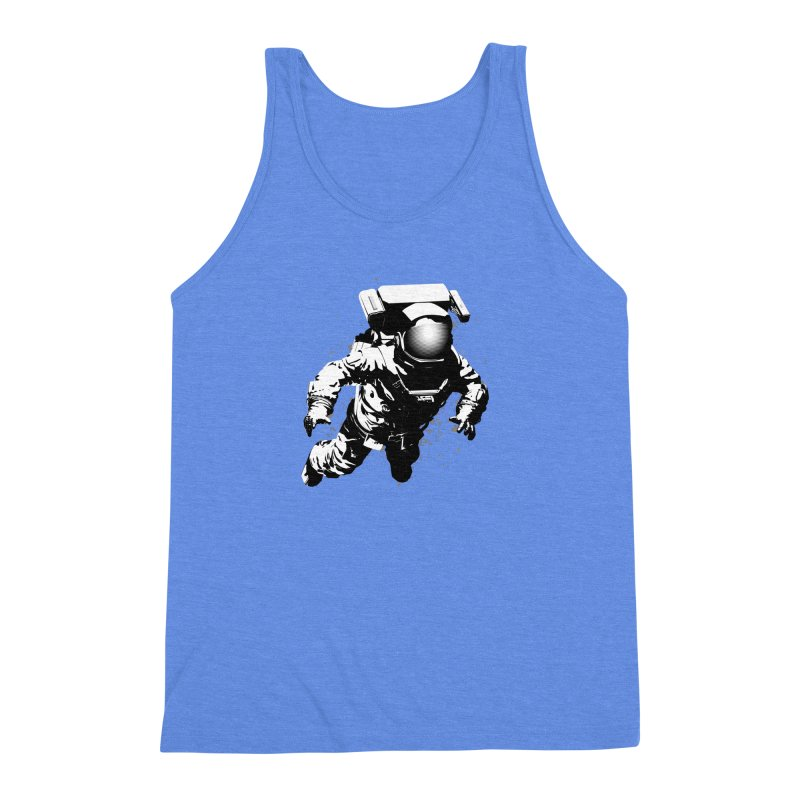 Cosmic Breakthrough Men's Triblend Tank by Grandio Design Artist Shop