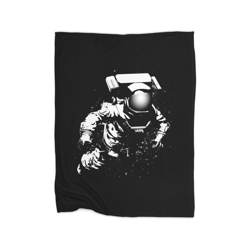 Cosmic Breakthrough Home Blanket by Grandio Design Artist Shop