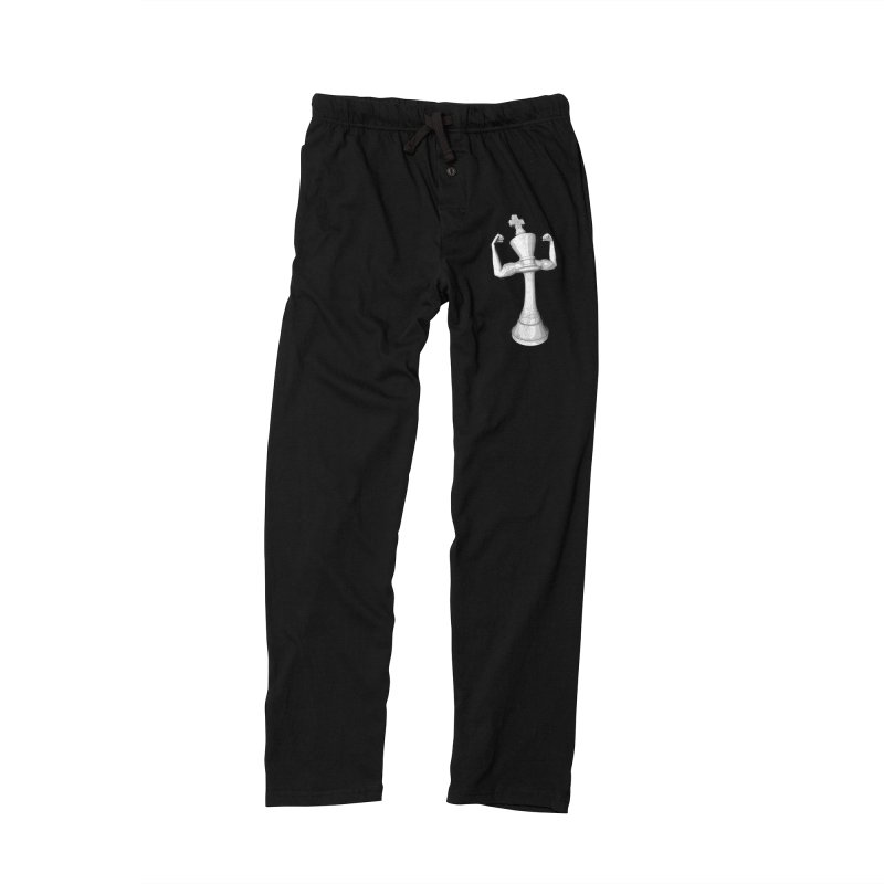 The White King Men's Lounge Pants by Grandio Design Artist Shop