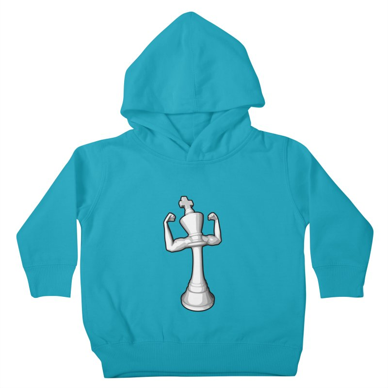 The White King Kids Toddler Pullover Hoody by Grandio Design Artist Shop