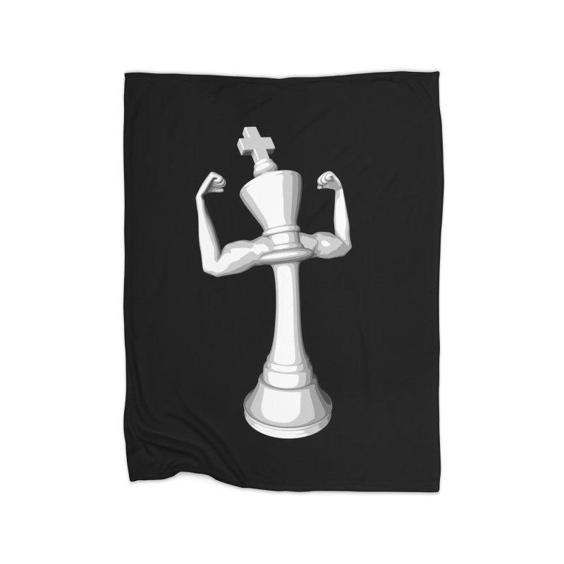 The White King Home Blanket by Grandio Design Artist Shop
