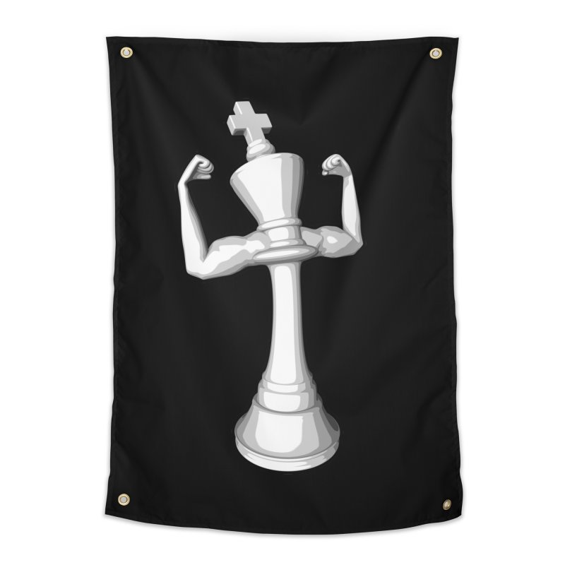 The White King Home Tapestry by Grandio Design Artist Shop
