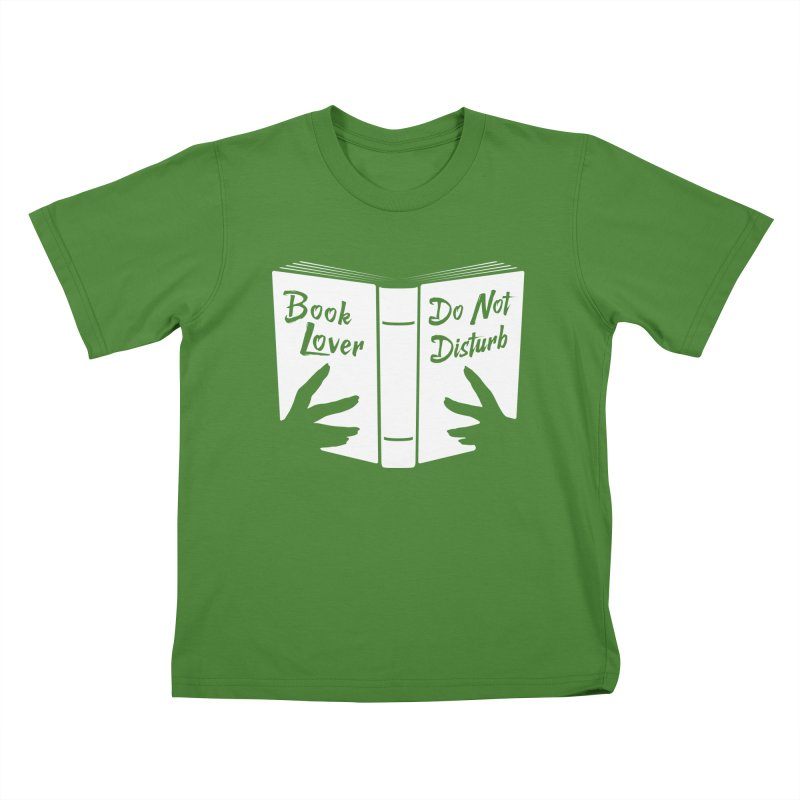 Book Lover, Do Not Disturb Kids T-Shirt by Grandio Design Artist Shop