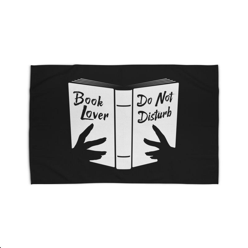 Book Lover, Do Not Disturb Home Rug by Grandio Design Artist Shop