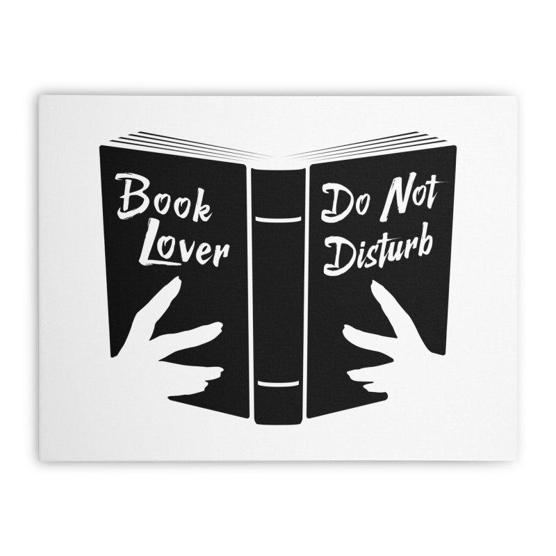 Book Lover, Do Not Disturb II Home Stretched Canvas by Grandio Design Artist Shop