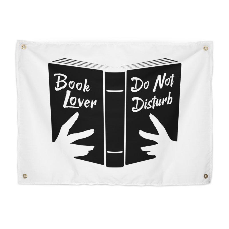 Book Lover, Do Not Disturb II Home Tapestry by Grandio Design Artist Shop