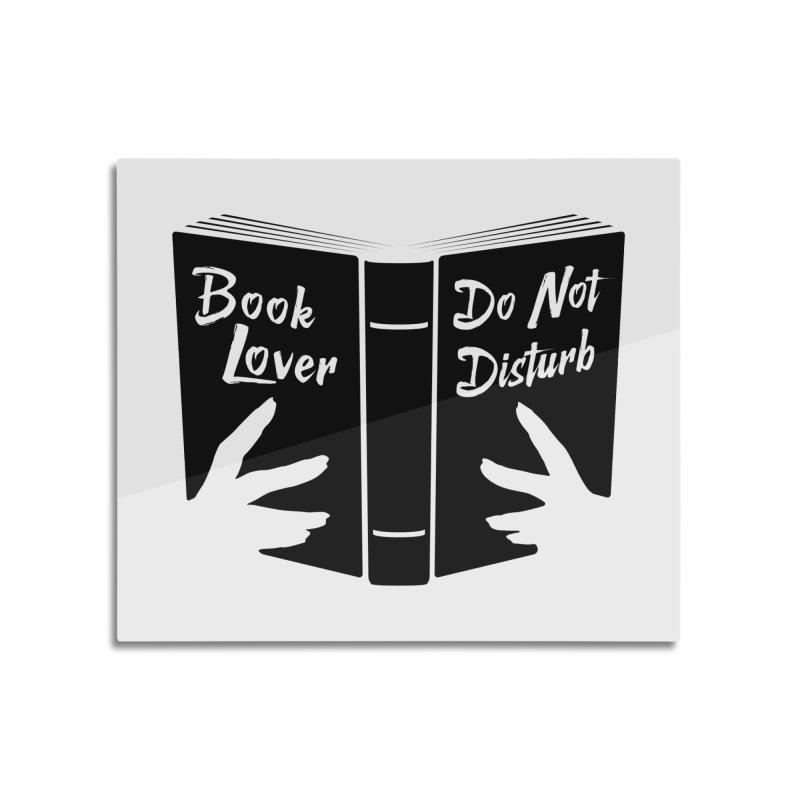 Book Lover, Do Not Disturb II Home Mounted Acrylic Print by Grandio Design Artist Shop