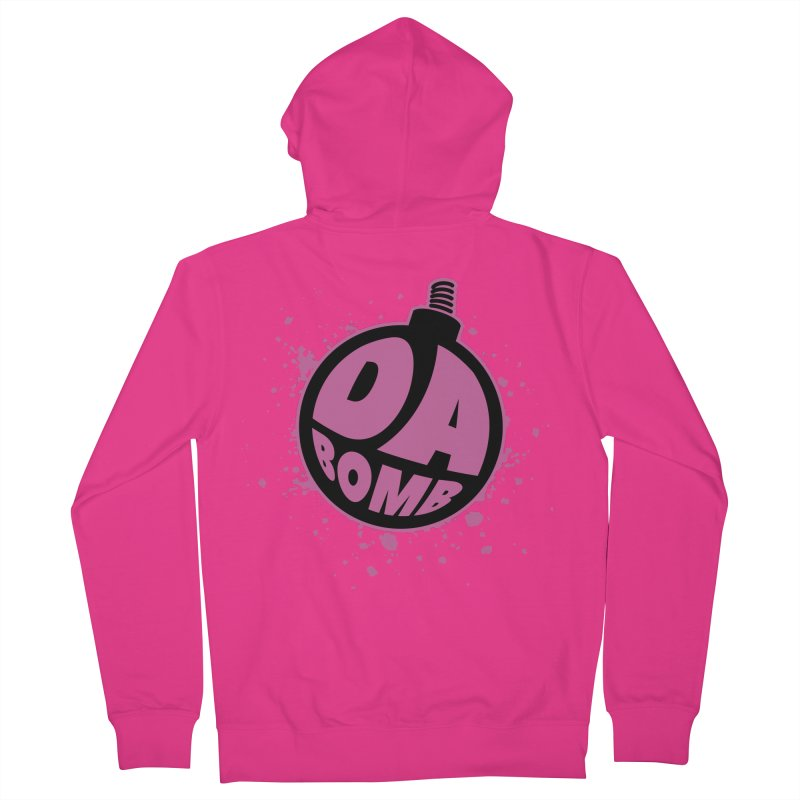 Da Bomb Men's Zip-Up Hoody by Grandio Design Artist Shop