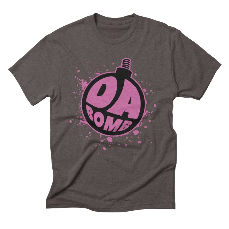 Da Bomb Men's Triblend T-Shirt by Grandio Design Artist Shop
