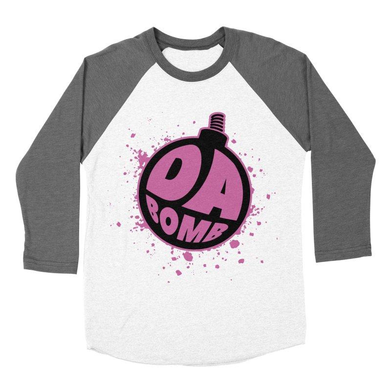 Da Bomb Women's Baseball Triblend T-Shirt by Grandio Design Artist Shop