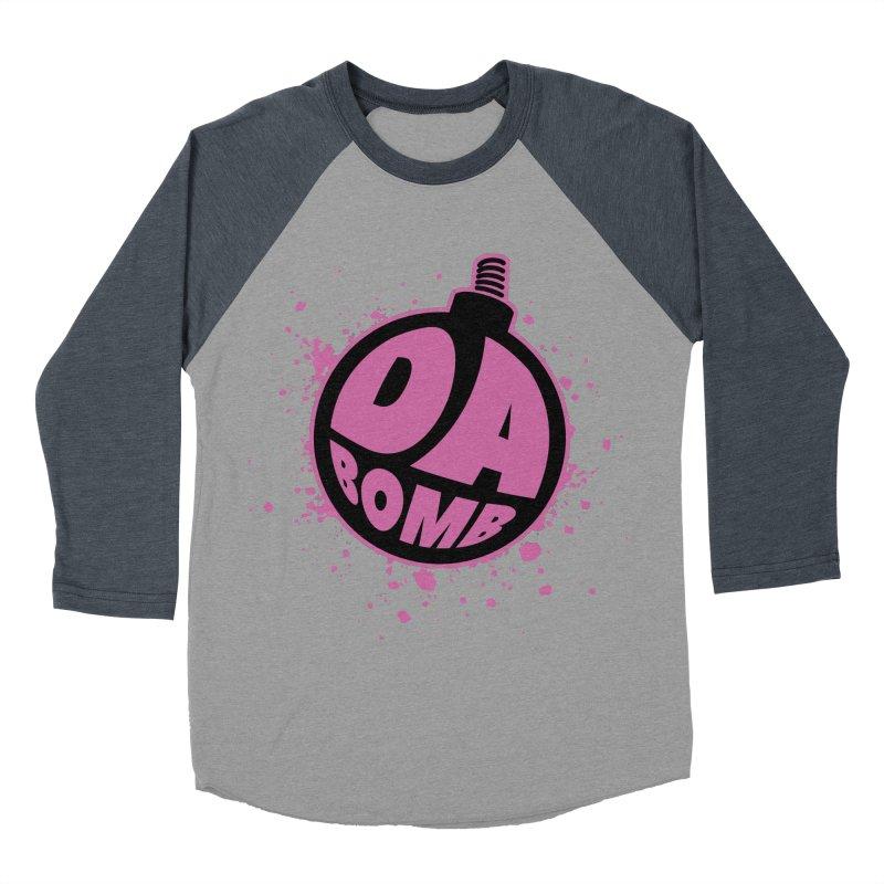 Da Bomb Men's Baseball Triblend T-Shirt by Grandio Design Artist Shop