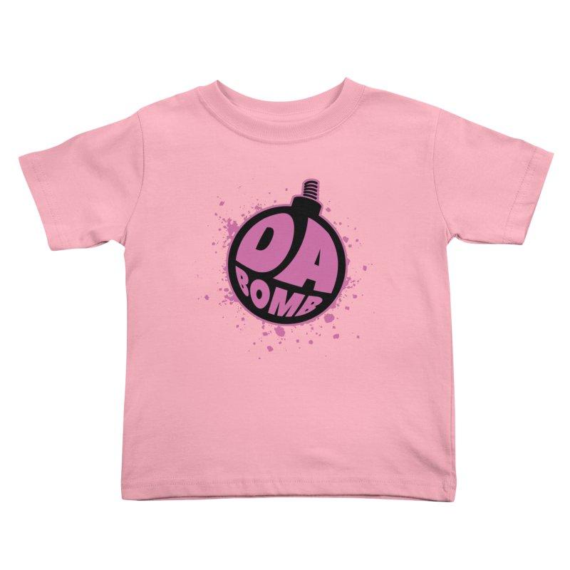 Da Bomb Kids Toddler T-Shirt by Grandio Design Artist Shop