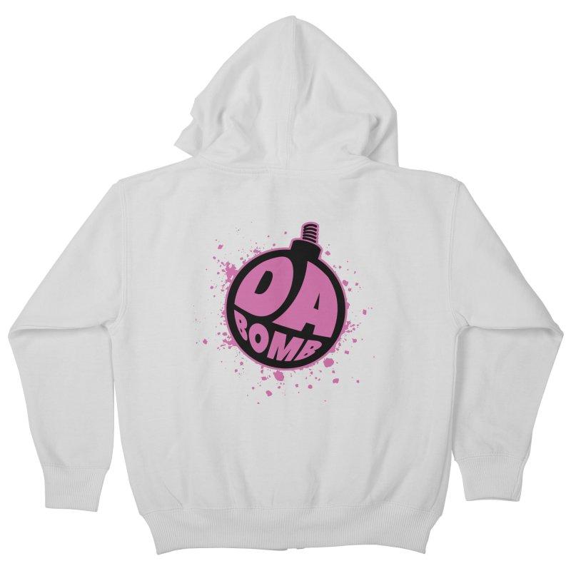 Da Bomb Kids Zip-Up Hoody by Grandio Design Artist Shop