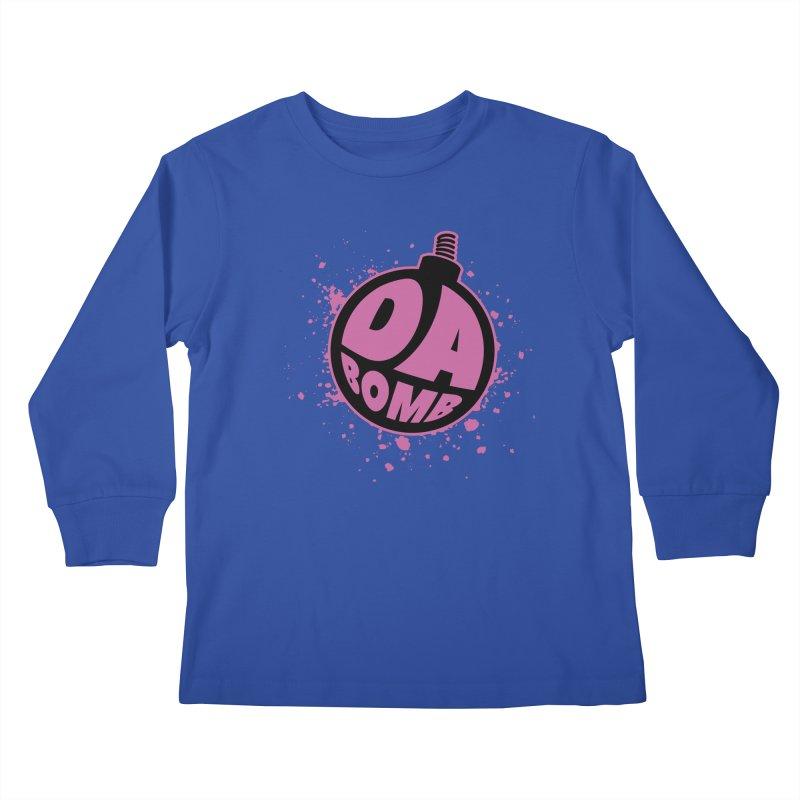 Da Bomb Kids Longsleeve T-Shirt by Grandio Design Artist Shop
