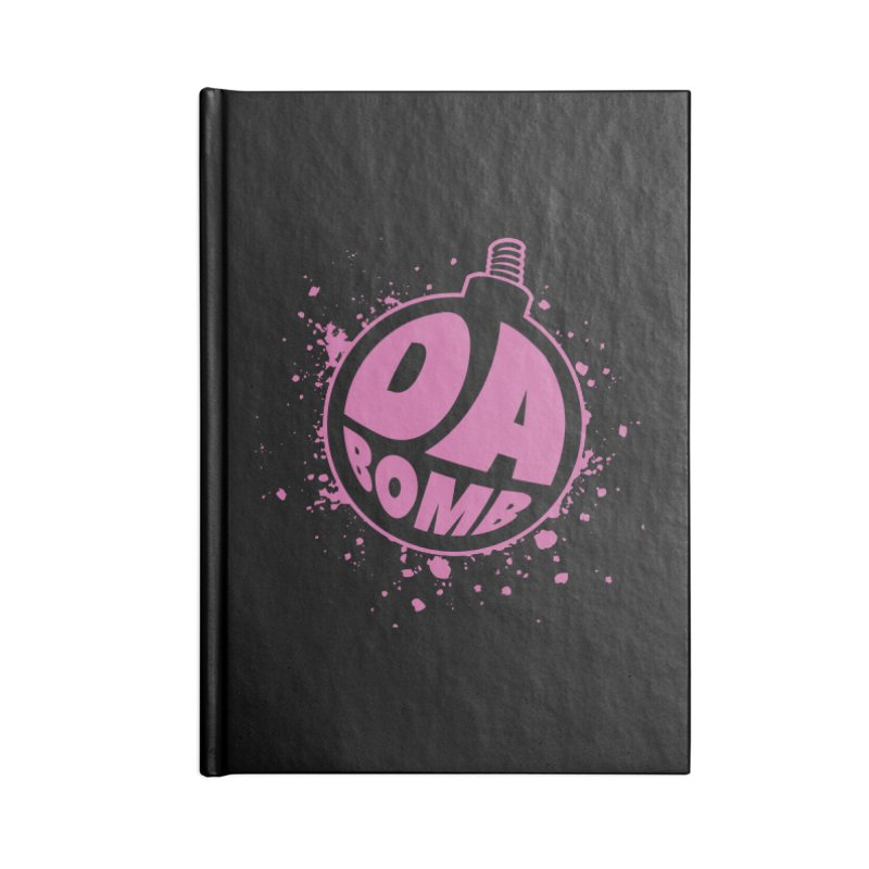 Da Bomb Accessories Notebook by Grandio Design Artist Shop