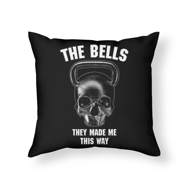 The Bells They Made This Way Home Throw Pillow by Grandio Design Artist Shop
