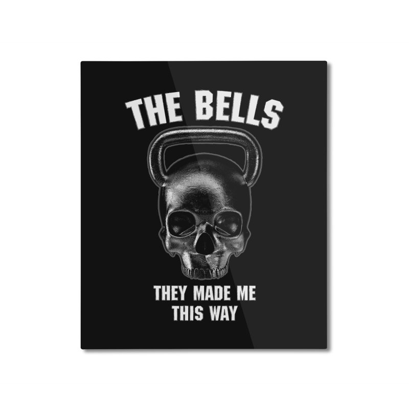 The Bells They Made This Way Home Mounted Aluminum Print by Grandio Design Artist Shop