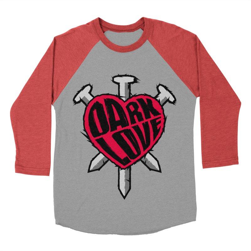 Dark Love Women's Baseball Triblend T-Shirt by Grandio Design Artist Shop