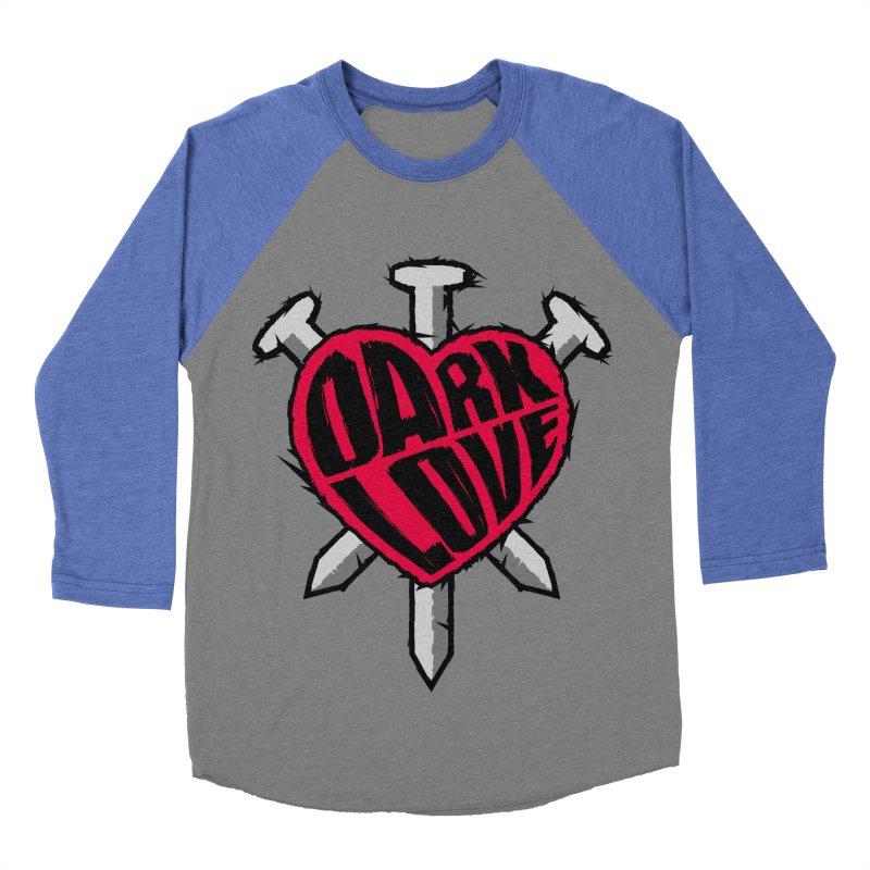 Dark Love Men's Baseball Triblend T-Shirt by Grandio Design Artist Shop