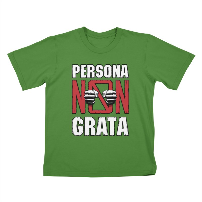 Persona Non Grata Kids T-Shirt by Grandio Design Artist Shop