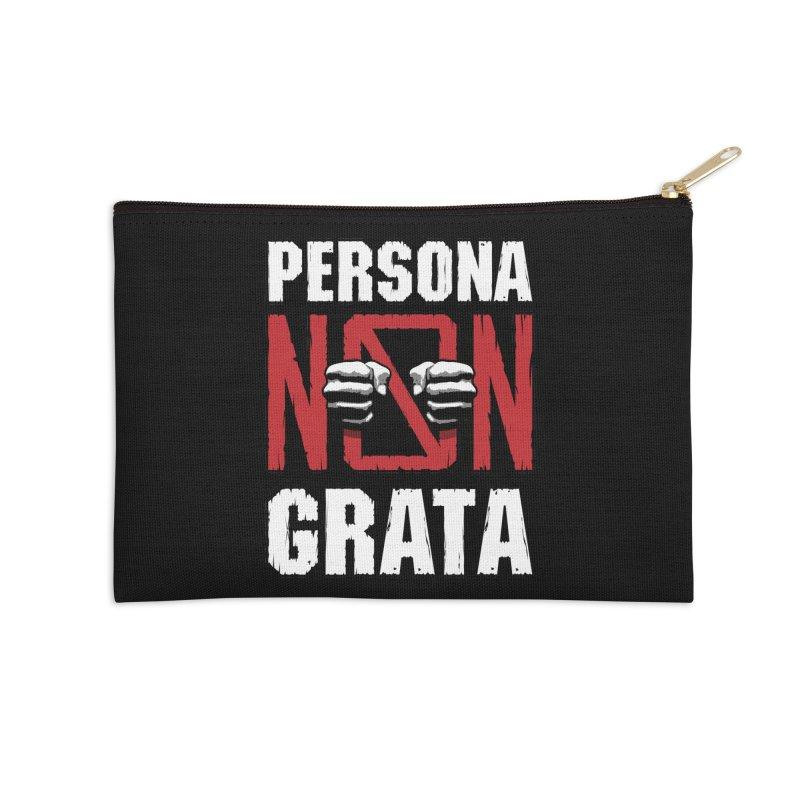 Persona Non Grata Accessories Zip Pouch by Grandio Design Artist Shop