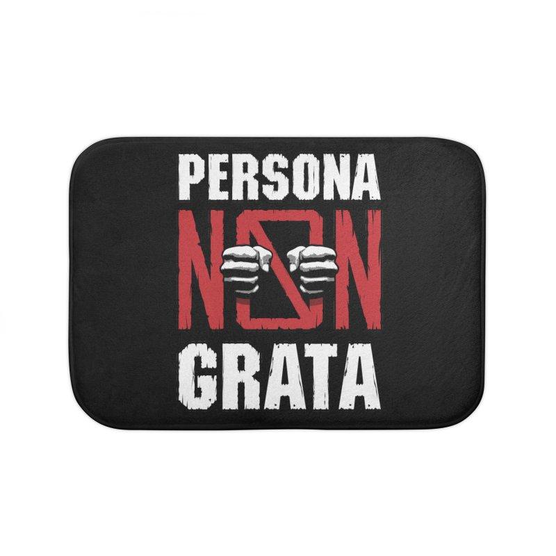 Persona Non Grata Home Bath Mat by Grandio Design Artist Shop
