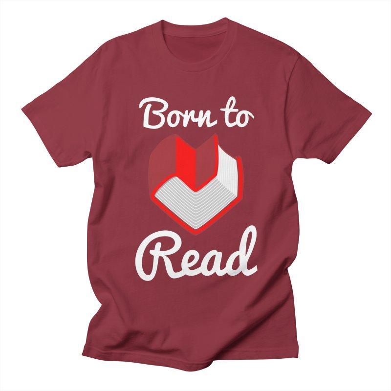 Born to Read Men's T-Shirt by Grandio Design Artist Shop