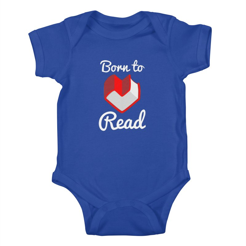 Born to Read Kids Baby Bodysuit by Grandio Design Artist Shop