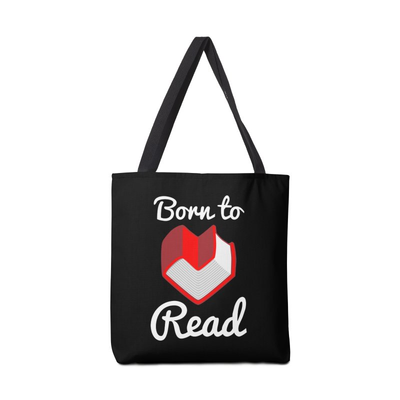 Born to Read Accessories Bag by Grandio Design Artist Shop