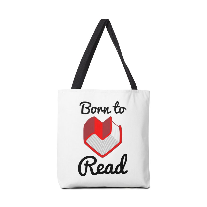 Born to Read II Accessories Bag by Grandio Design Artist Shop