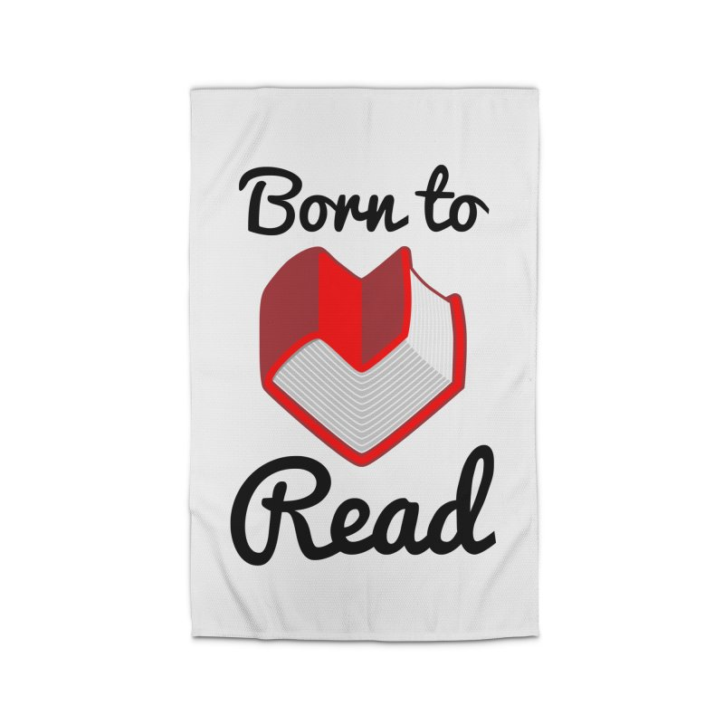 Born to Read II Home Rug by Grandio Design Artist Shop