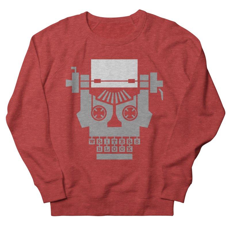 Writer's Block Men's Sweatshirt by Grandio Design Artist Shop