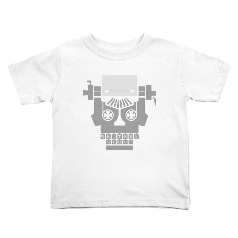 Writer's Block Kids Toddler T-Shirt by Grandio Design Artist Shop