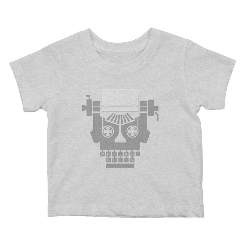 Writer's Block Kids Baby T-Shirt by Grandio Design Artist Shop