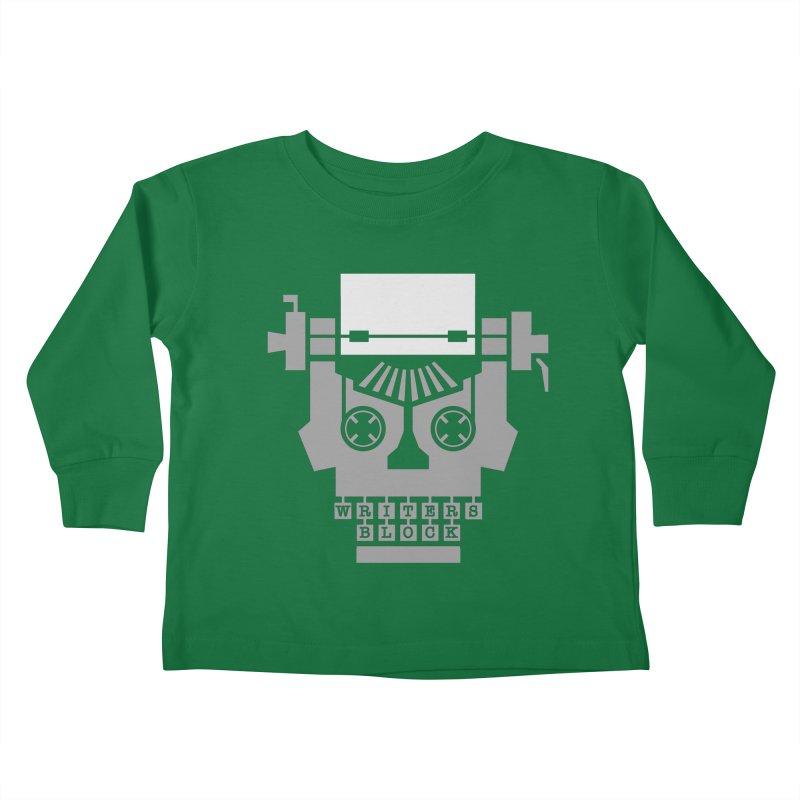 Writer's Block Kids Toddler Longsleeve T-Shirt by Grandio Design Artist Shop