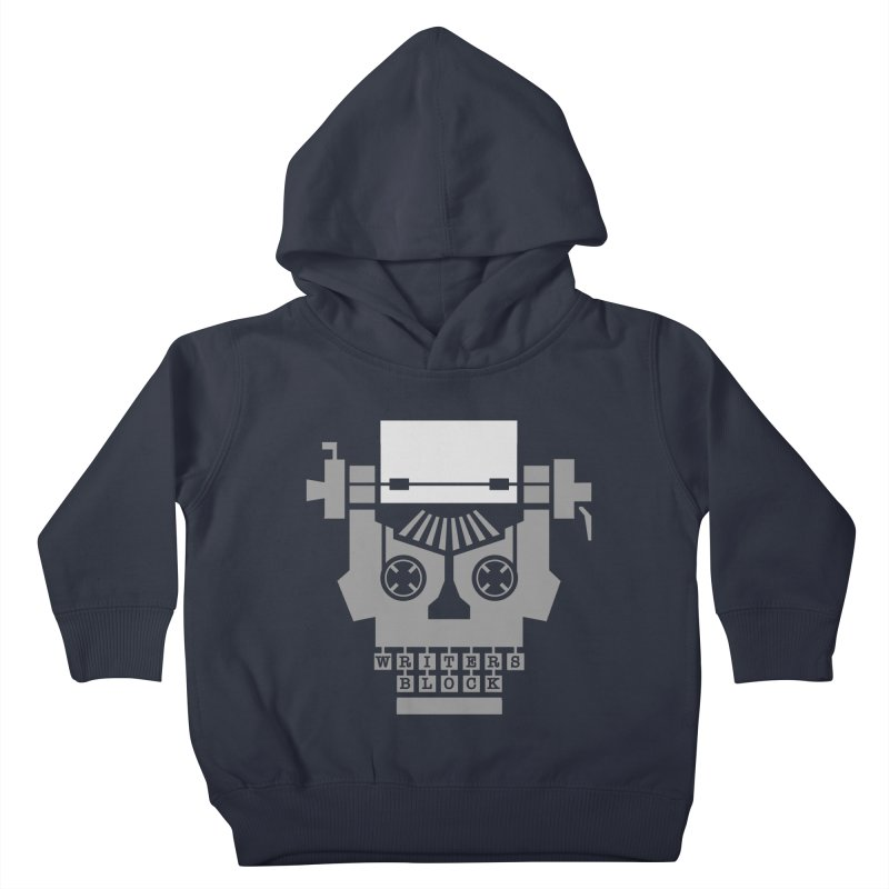 Writer's Block Kids Toddler Pullover Hoody by Grandio Design Artist Shop