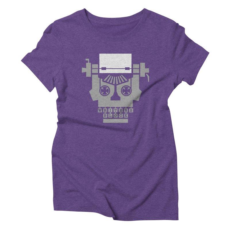 Writer's Block Women's Triblend T-Shirt by Grandio Design Artist Shop
