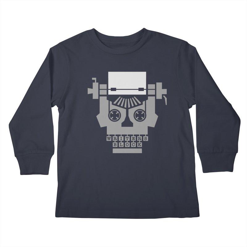 Writer's Block Kids Longsleeve T-Shirt by Grandio Design Artist Shop