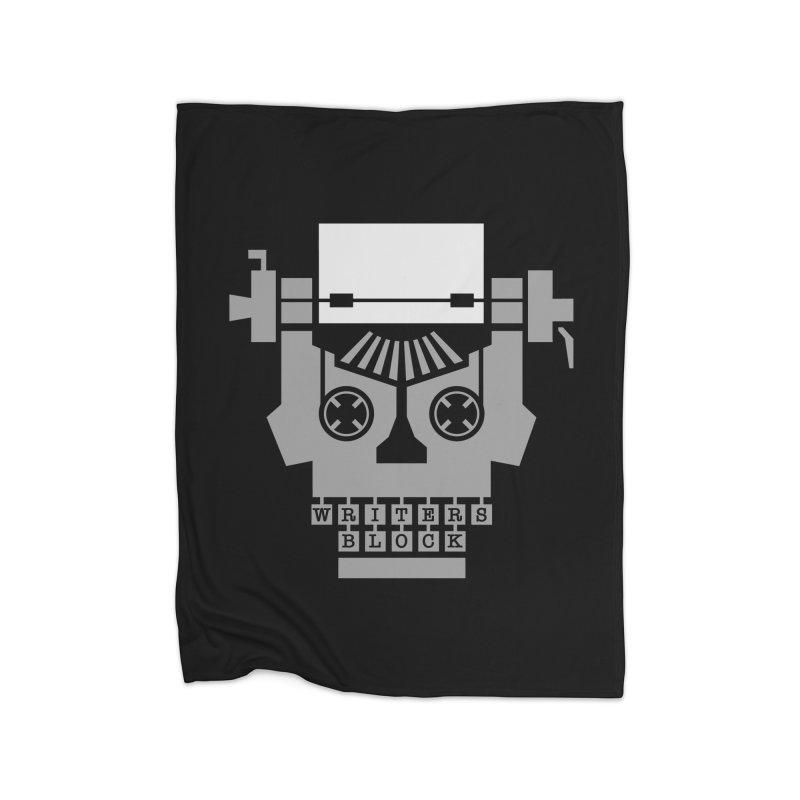 Writer's Block Home Blanket by Grandio Design Artist Shop