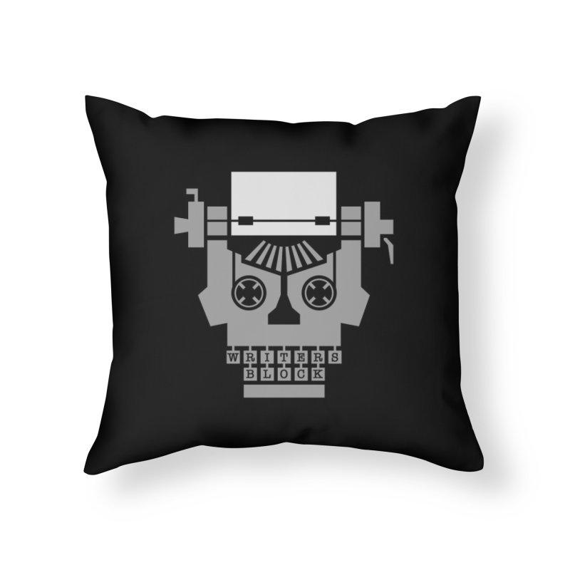 Writer's Block Home Throw Pillow by Grandio Design Artist Shop