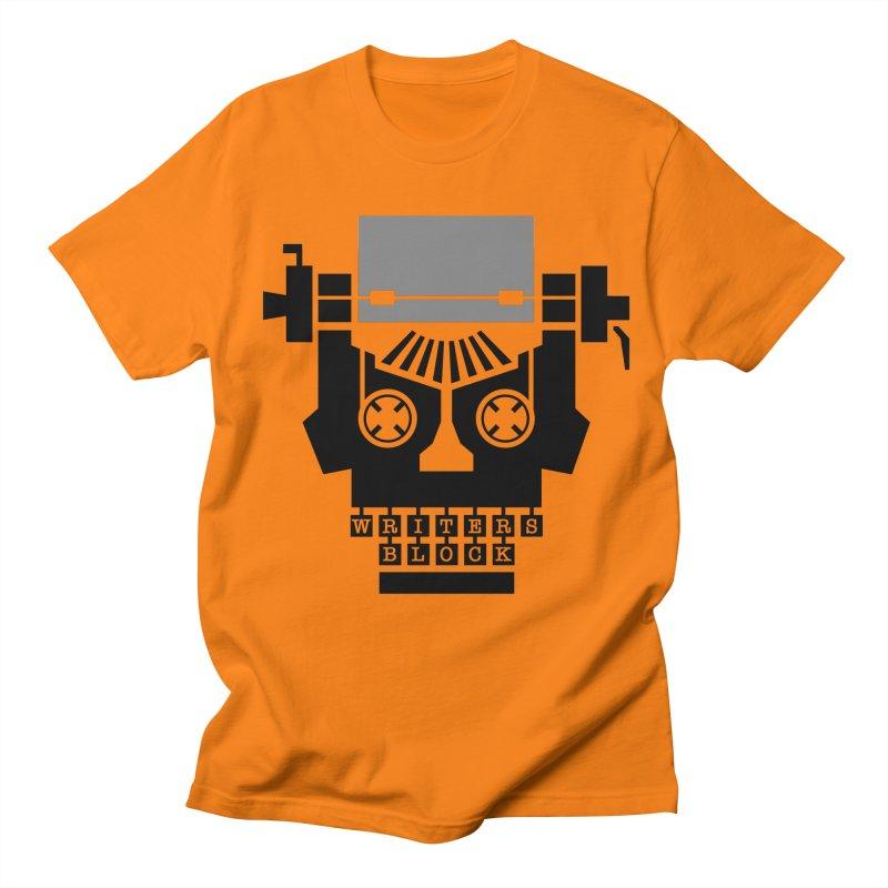 Writer's Block II Men's T-Shirt by Grandio Design Artist Shop