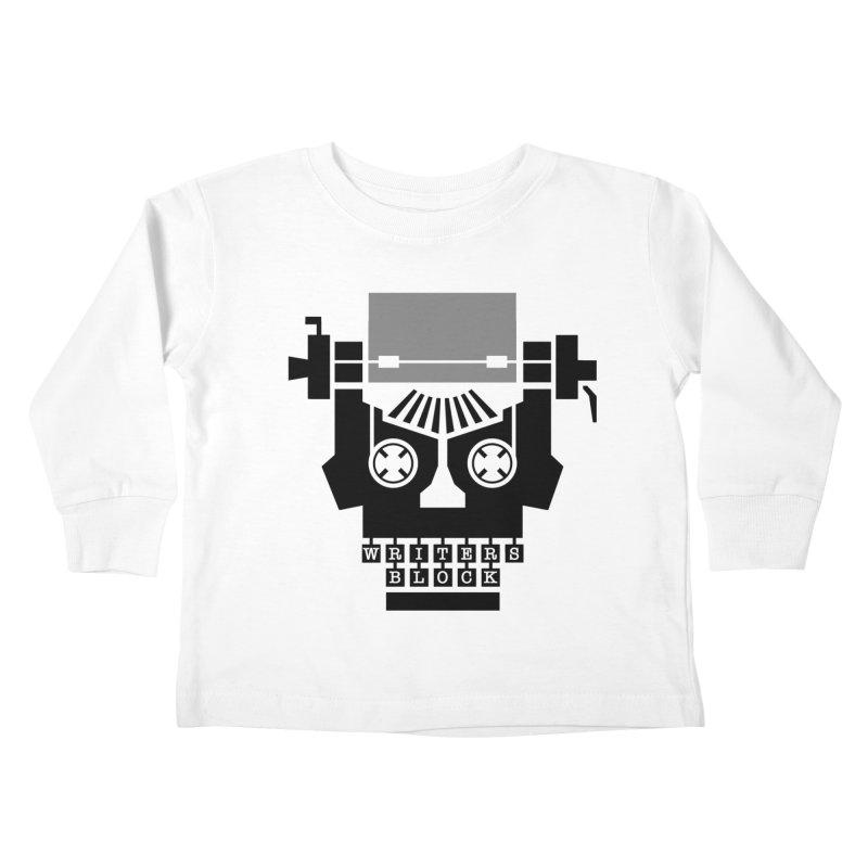 Writer's Block II Kids Toddler Longsleeve T-Shirt by Grandio Design Artist Shop