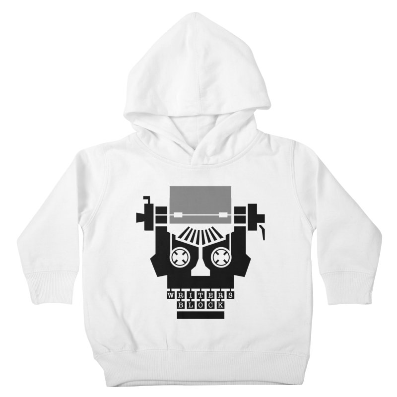 Writer's Block II Kids Toddler Pullover Hoody by Grandio Design Artist Shop