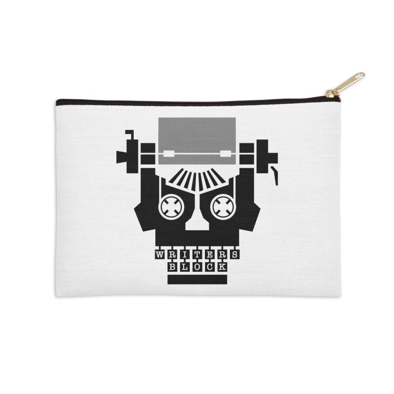 Writer's Block II Accessories Zip Pouch by Grandio Design Artist Shop