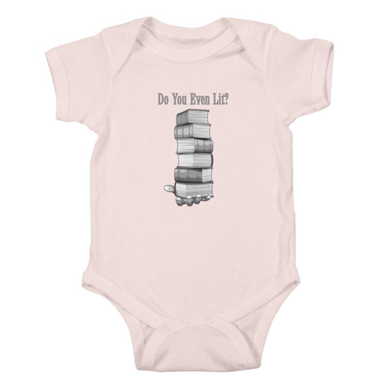 Do You Even Lit? Kids Baby Bodysuit by Grandio Design Artist Shop