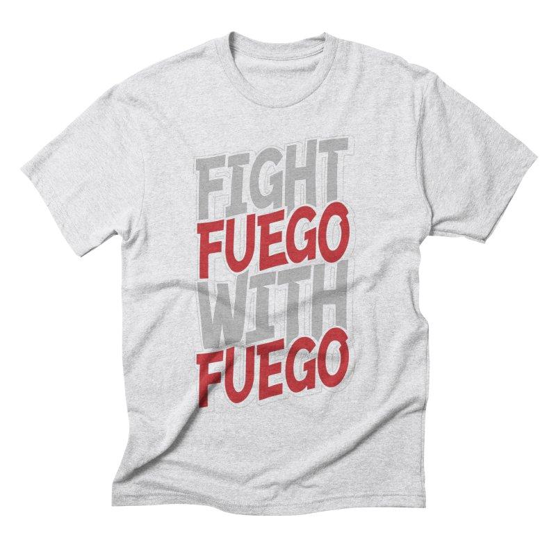 Fight Fuego With Fuego Men's Triblend T-Shirt by Grandio Design Artist Shop