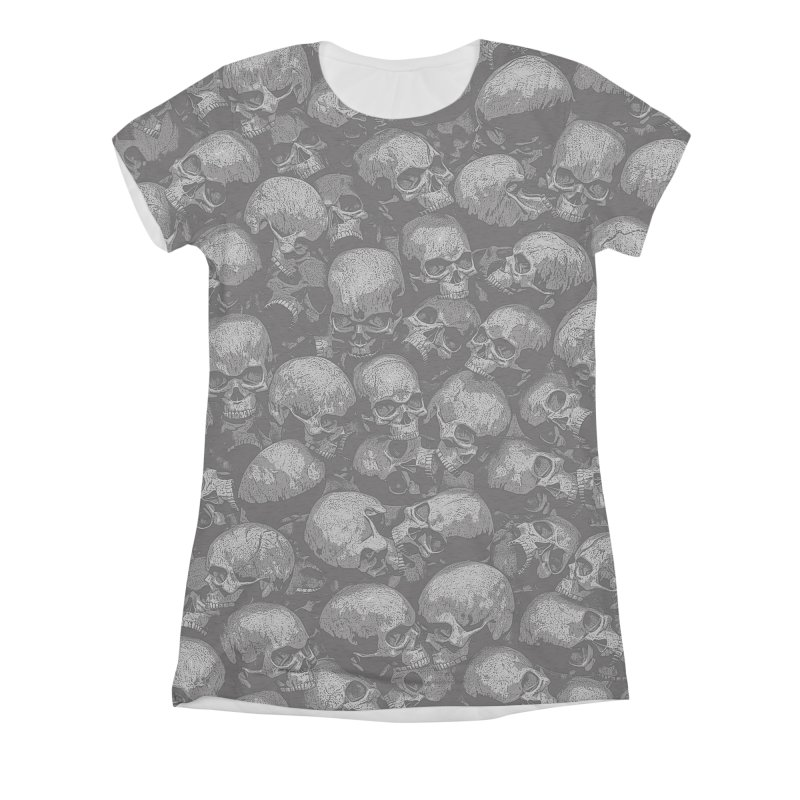 Totally Gothic Women's All-Over Print Triblend T-Shirt by Grandio Design Artist Shop