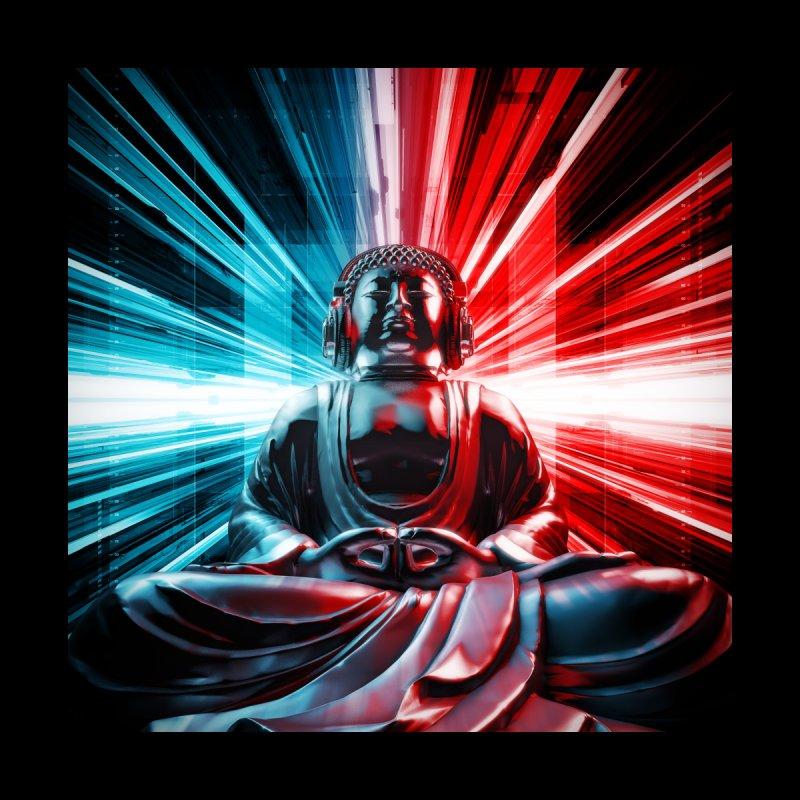 Techno Buddha Men's All Over Print by Grandio Design Artist Shop