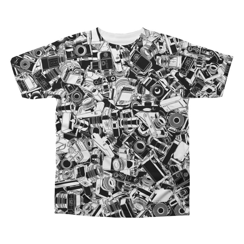 Shutterbug Men's Regular All Over Print by Grandio Design Artist Shop
