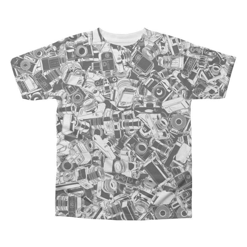 Shutterbug Men's Triblend All Over Print by Grandio Design Artist Shop